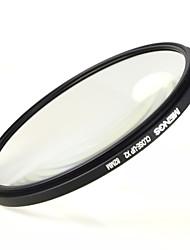 mengs® filtro x2 82mm close-up con marco de aluminio para la cámara réflex digital