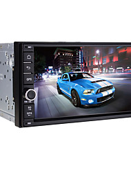 7 ίντσεςch - 1024 x 600 - 2 Din - Car DVD Player