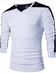 Manni Men's Long Sleeve T-Shirts (Cotton)