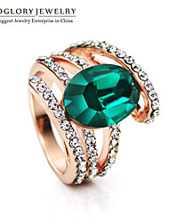 Neoglory Women's Alloy Ring With Crystal