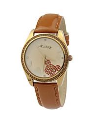 cristal de moda feminina venda quente de alta qualidade relógios de quartzo dc-51062