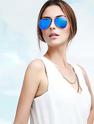 Sunglasses Men / Women's Classic / Elegant / Lightweight / Modern Flyer Silver Sunglasses Full-Rim