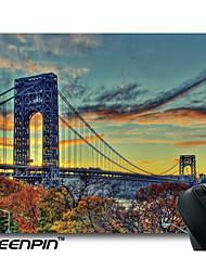 SEENPIN Personalized George Washington Bridge Pretty Landscape View Mouse Pads