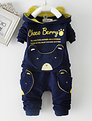 Boy's Fashion  Printing  Cotton  Clothing Sets