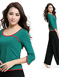 Yoga Clothes Suit 2015 Spring New Female Yoga Clothes Dance Clothes Fitness+15477