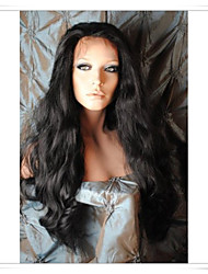 8inch-22inch 100% Indian Remy Human Hair Body Wave Lace Wigs LWBW003