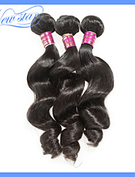 New Star Hot Sellings Products for 2015 3Pcs 10-34 Inches Loose Wave Peruvian Remy Virgin Human Hair Weave