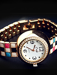 Ms Square Circular Fashion Watches