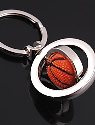 Unisex Alloy Casual Keychain Fashion Revolve Basketball Key Chains