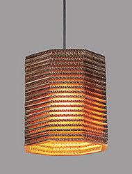 Pendant Lamp 1 Light Modern Fabric Material