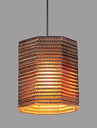 Pendant Lamp 1 Light Modern Fabric Material