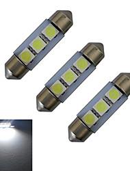 1W Guirlande Lampe de Décoration 3 SMD 5050 60lm lm Blanc Froid DC 12 V 3 pièces