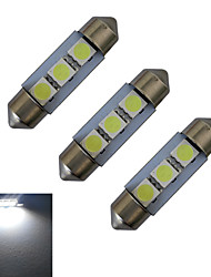 Festone Luci da arredo 3 SMD 5050 60lm lm Luce fredda DC 12 V 3 pezzi