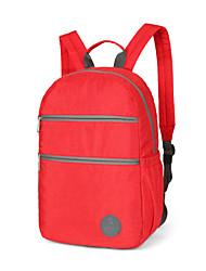 tinyat novo! mochila de viagem / mochila escolar / mulheres mochila de esportes / mochilas casuais zíper de poliéster vermelho