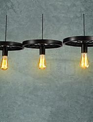 ecolight® loft hanger / wiel kroonluchter / rustieke / vintage / retro / eetkamer / entry / game / metalpainting