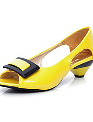 Yellow Bridal Shoes Low Heel - Lightinthebox.com