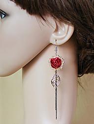 Earring Drop Earrings Jewelry Women Alloy 2pcs Bronze