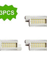 3 шт. H+LUX™ R7S 10 W 24 SMD 5630 800 LM Холодный белый R Декоративная Прожектор AC 220-240 V
