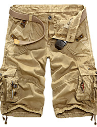 Men's Fashion Loose Tooling Shorts (Cotton/Polyester)