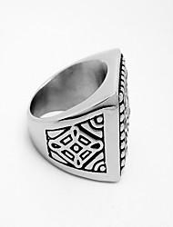 Men's Retro Titanium Ring