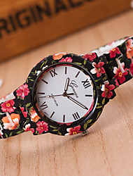 Student Loves Quartz Watch New Fashion High-quality Ceramic Printing , Leopard, Military, Birthday gifts T3663-9