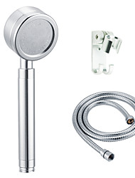 High Quality Handheld Shower Space Aluminum + 1.5m Stainless Steel Shower Hose + Holder