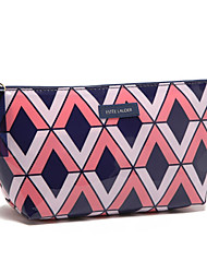 Women PVC Casual Cosmetic Bag Multi-color