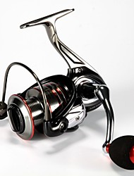 Fishmore MR Series Metal Body 3000 Gear Ratio 5.0:1 5000 Gear Ratio 4.7:1 12+1BB Spinning Reel Aluminum Handle