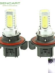 H13 P26.4T 10W 900Lm 5 x COB LED Cold White Light Polarity Free Car Foglight / Headlamp / Tail Light (12-24V)