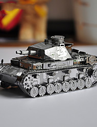 The German four Ausf P037-S 3D three-dimensional mechanical model of DIY Metal Puzzle Toy adult puzzle