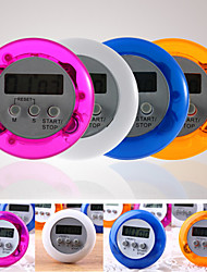 Digital Kitchen Count Down Up LCD Timer Alarm(Random Color)