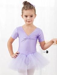 Robes et Jupes / Tutus & Jupes / Robes(Noire / Bleu léger / Rose / Rouge,Coton / Tulle,Ballet)Ballet- pourEnfant Spectacle / Entraînement