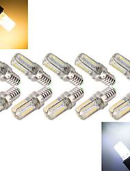 Ampoules Epis de Maïs ( Blanc chaud/Blanc froid 7 W- E14 800-1000 lm- AC 100-240 V- 10 pièces