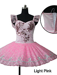 Light Pink Wedding Satin Dance Skirts is made of Stiffier Tulle for Ladies and Girls
