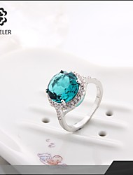 Hot Selling Fashionable Model Zircon Ring In The Coming Year