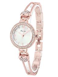 KIMIO Women's Elegant Heart-shape Rhinestone Bracelet Quartz Watch