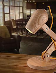Newest Design Wood Table lamps Desk light Living Room Bedroom Decor  Solid Wood Table Lighting