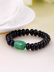 Bracelet Collection personnelle de perle/Chaîne Agate Onyx Unisexe/Femme