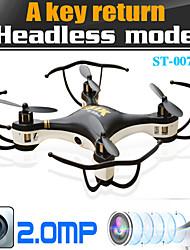 phoques st-007 quadcopter rc drones HD-2 millions de caméras de surveillance 6 axes en mode une touche pour revenir sans tête
