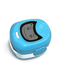 ZHZ Fingerspitze Pulsoximeter für die pädiatrische Verwendung oder Kind mit Kordel Alarm Hals- / Handgelenk Akkus und Ladegerät