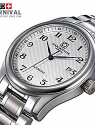 Swiss JIANIANHUA Watch Series Digital Quartz Watch Three Men Master Stainless Steel Mens Watch Black Needle