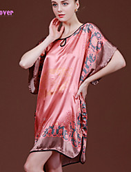 Women Polyester/Silk/Spandex Robes/Satin & Silk/Ultra Sexy Nightwear