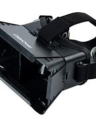 """la realidad 3D y video gafas universales virtuales para 3.5 '' - 6 """"smartphones-negro (primera generación)"""