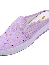 Women's  Lace Flat Heel Round Toe Shoes