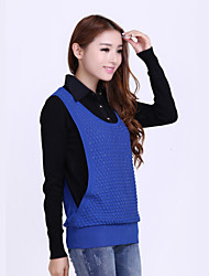 New Hot Women's Long Sleeve High Quality Knit Pullover Lovely Shirt Collar Sweater