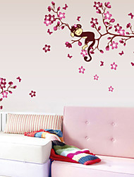 Animals / Botanical / Cartoon Wall Stickers Plane Wall Stickers Decorative Wall Stickers,PVC Material Removable Home Decoration Wall Decal