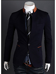 Vito Men's Casual Round Long Sleeve Suits & Blazers