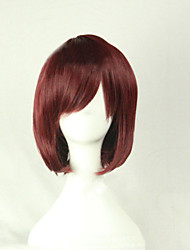 The New Cartoon Color Wig  Brown Face  Short Straight Hair Wigs