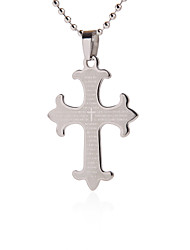 Gift Groomsman Customize Gift Men's Cross Pendant