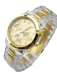 damas mens relojes unisex reloj de cuarzo de acero inoxidable reloj analógico de plata nueva * venta *